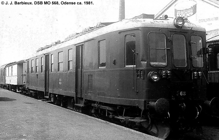 DSB MO568