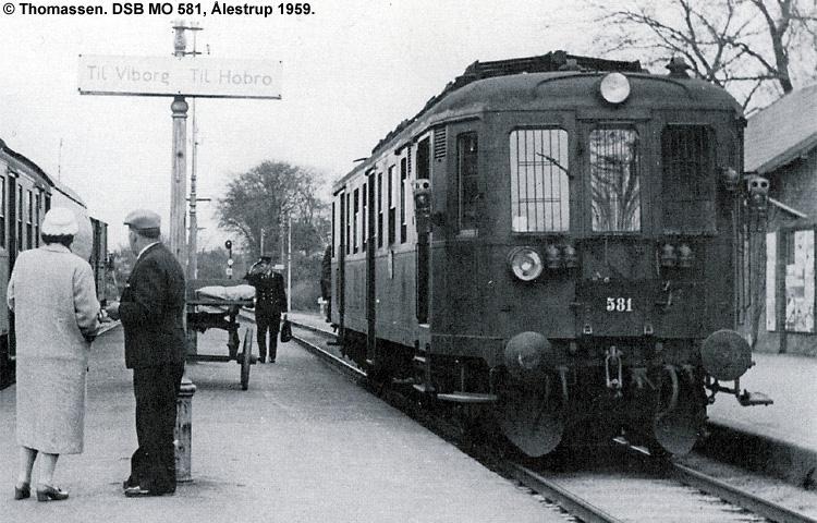 DSB MO 581