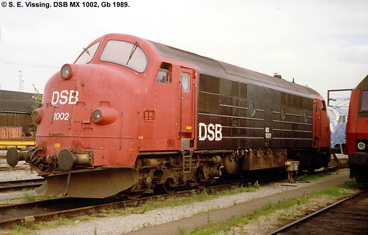 DSB MX 1002
