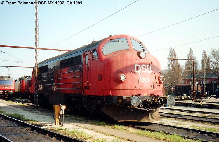 DSB MX 1007