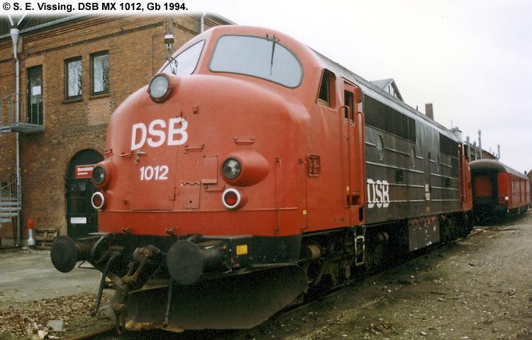 DSB MX 1012