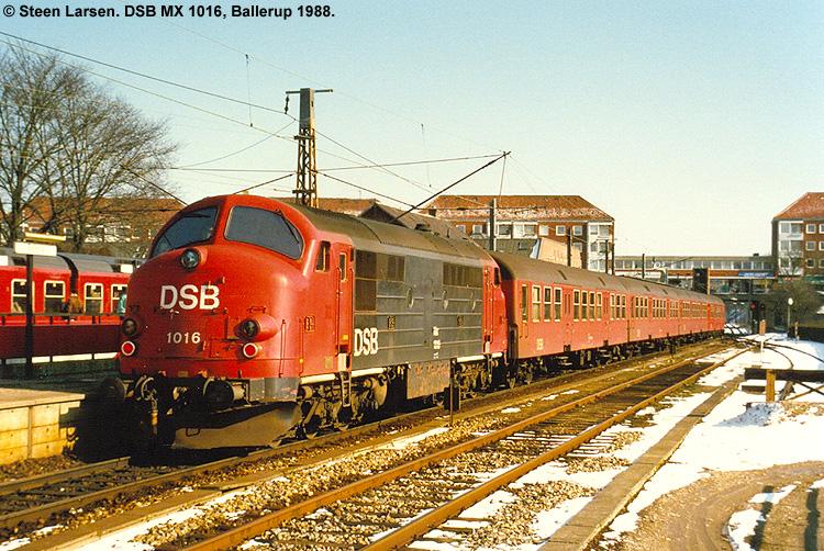 DSB MX 1016