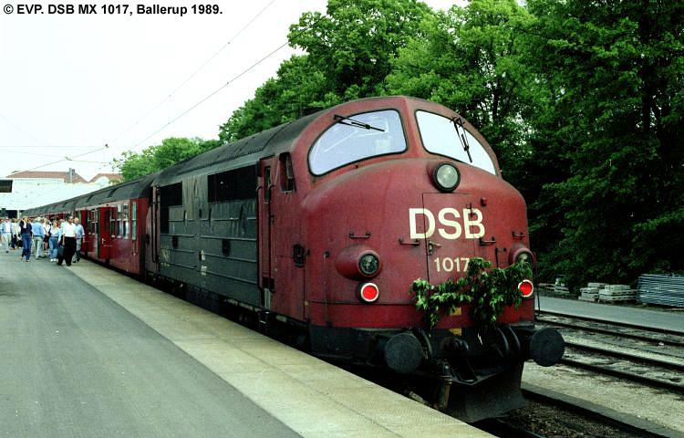 DSB MX 1017