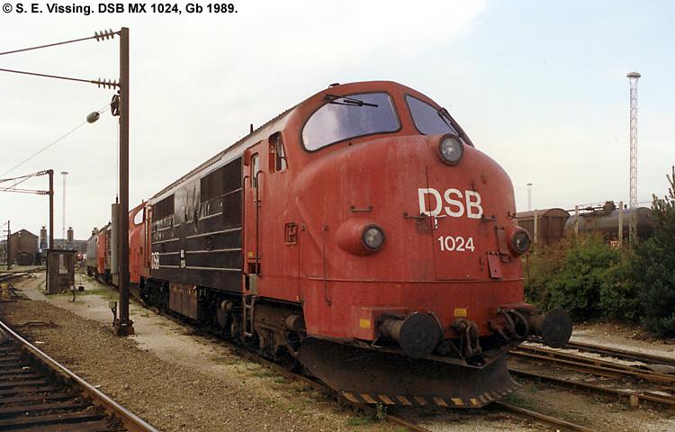 DSB MX1024