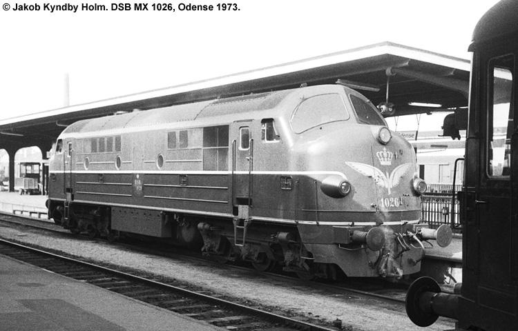 DSB MX 1026