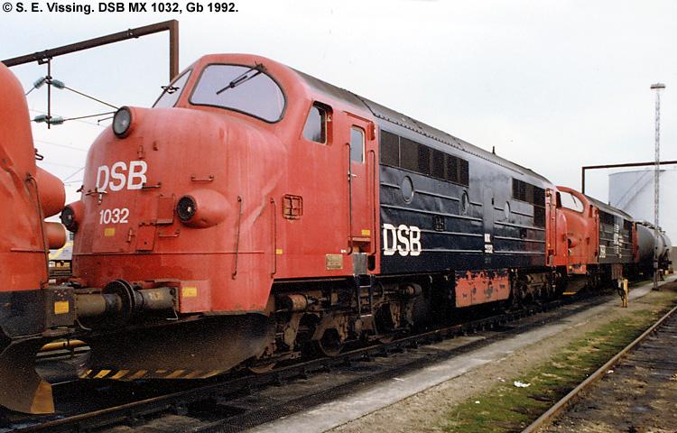 DSB MX 1032