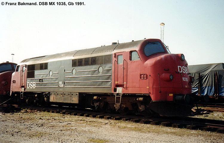 DSB MX 1035
