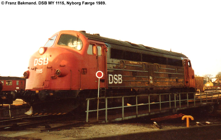 DSB MY 1115