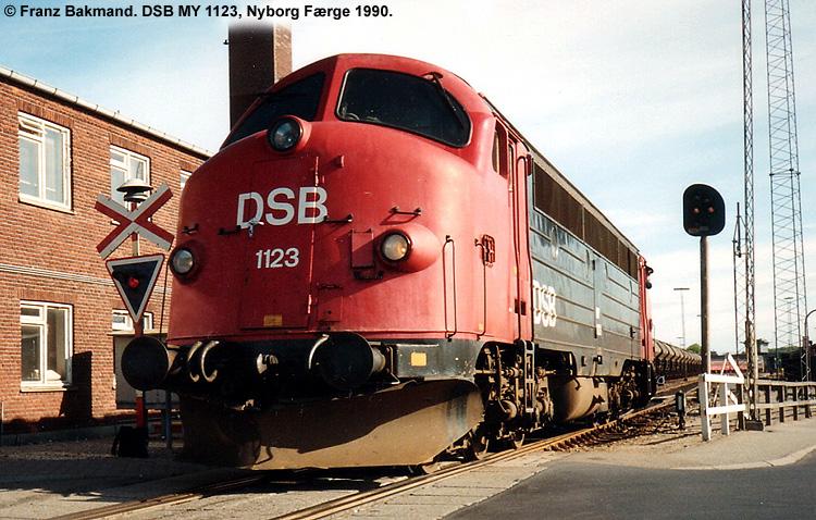 DSB MY 1123