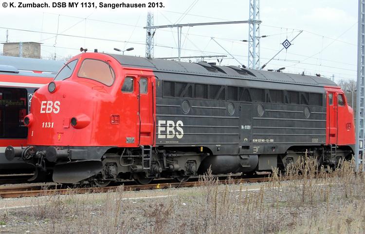 DSB MY 1131