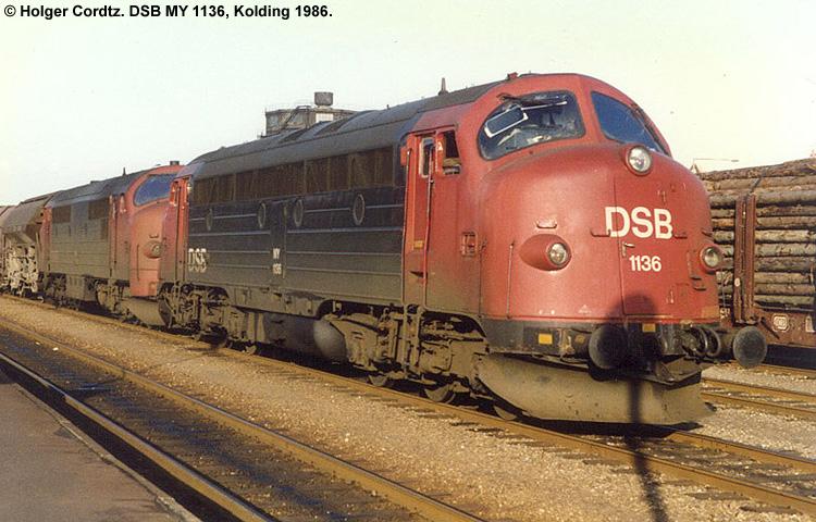 DSB MY 1136