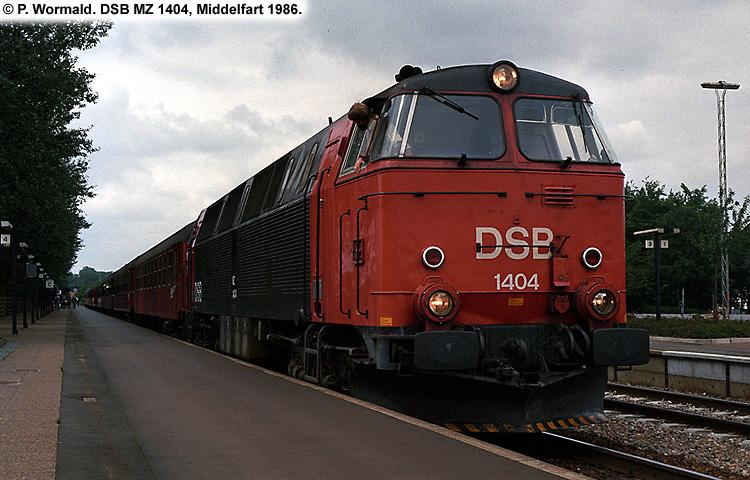 DSB MZ 1404