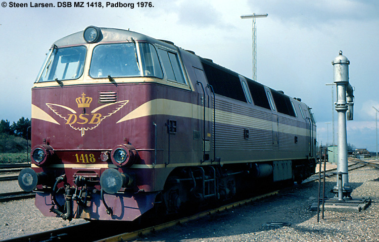 DSB MZ 1418