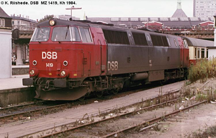 DSB MZ1419