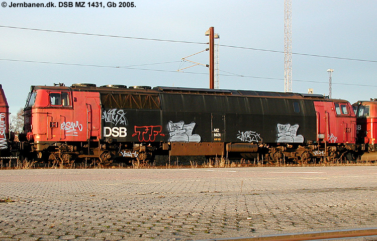 DSB MZ 1431