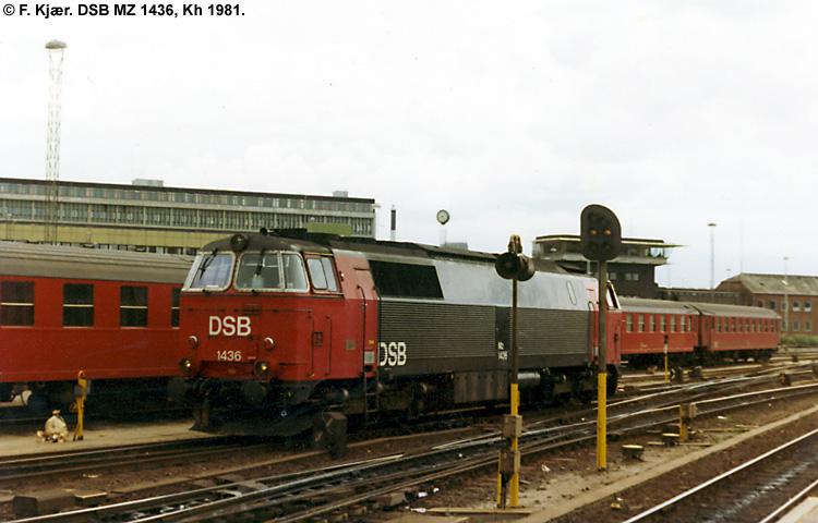 DSB MZ 1436