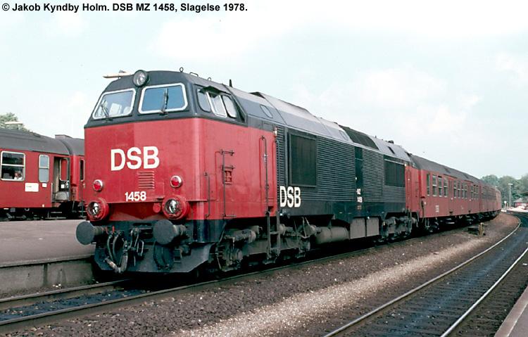 DSB MZ 1458