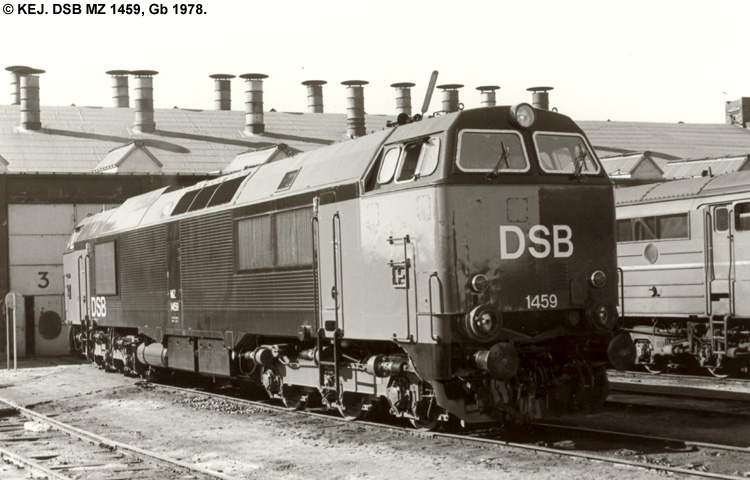 DSB MZ 1459
