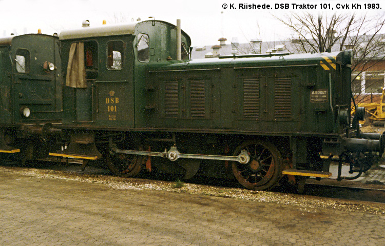 DSB Traktor 101