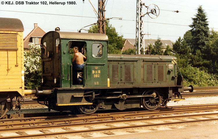 DSB Traktor 102