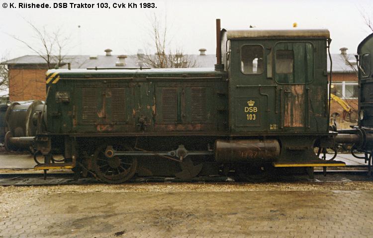 DSB Traktor 103