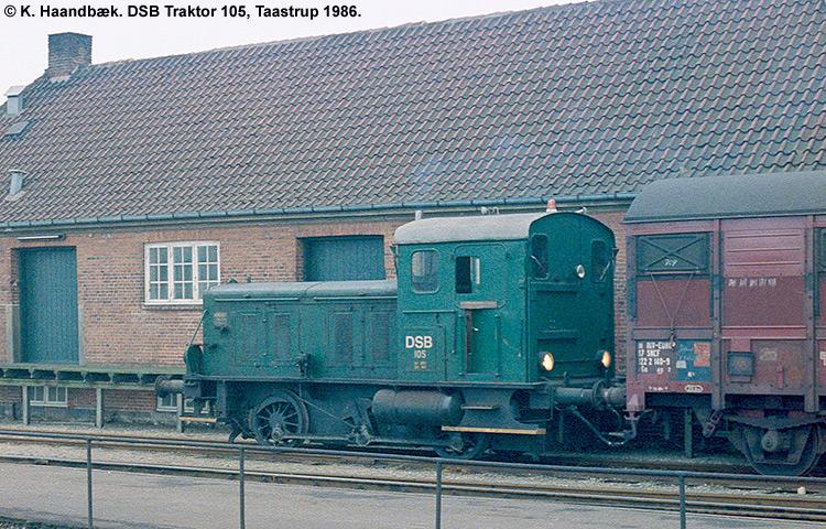 DSB Traktor 105