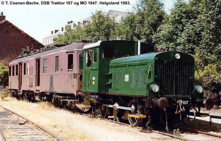 DSB Traktor 107