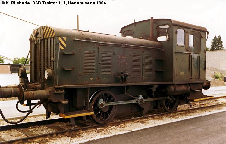 DSB Traktor 111