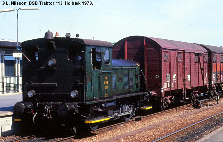 DSB Traktor 113