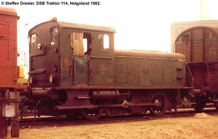 DSB Traktor 114