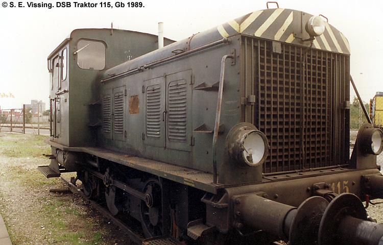 DSB Traktor 115