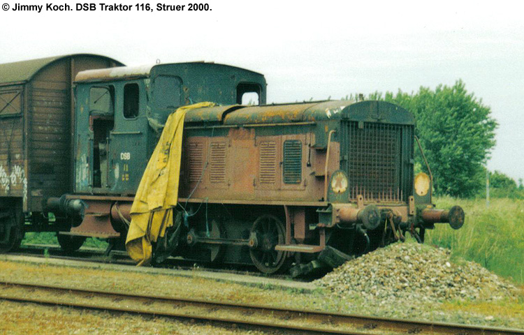 DSB Traktor 116