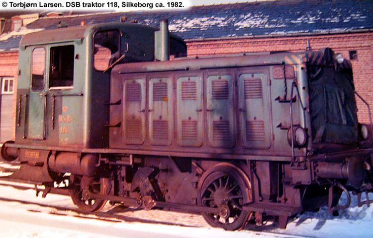 DSB Traktor 118