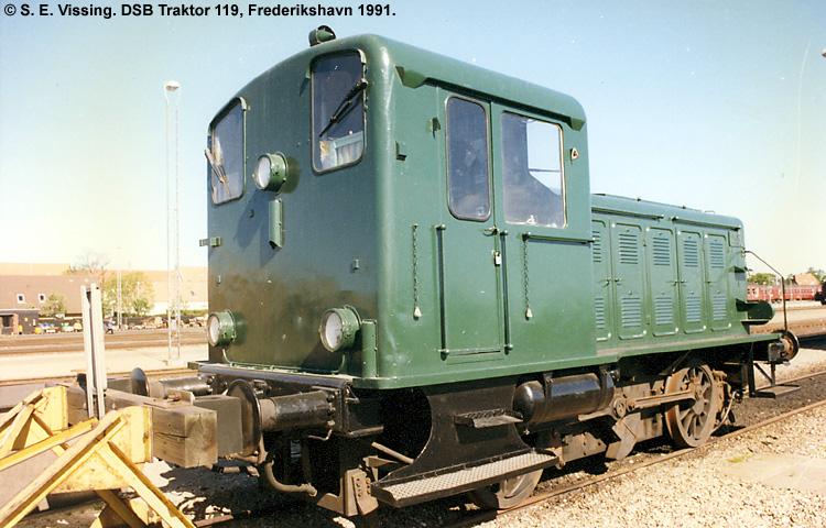 DSB Traktor 119