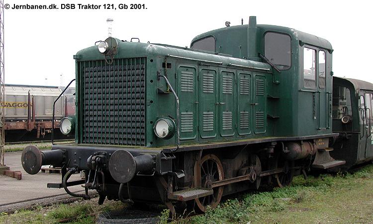 DSB Traktor 121