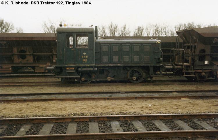 DSB Traktor 122