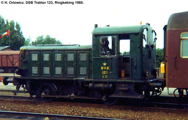 DSB Traktor 123