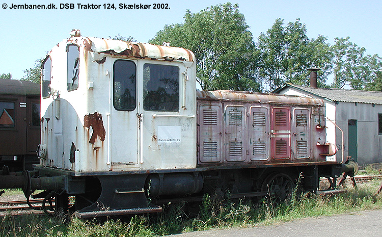 DSB Traktor 124