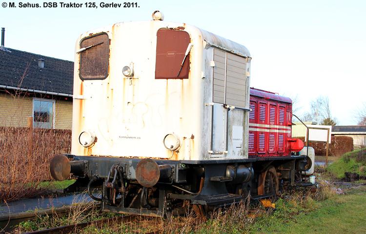 DSB Traktor 125