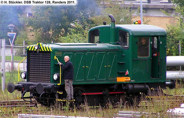 DSB Traktor 128