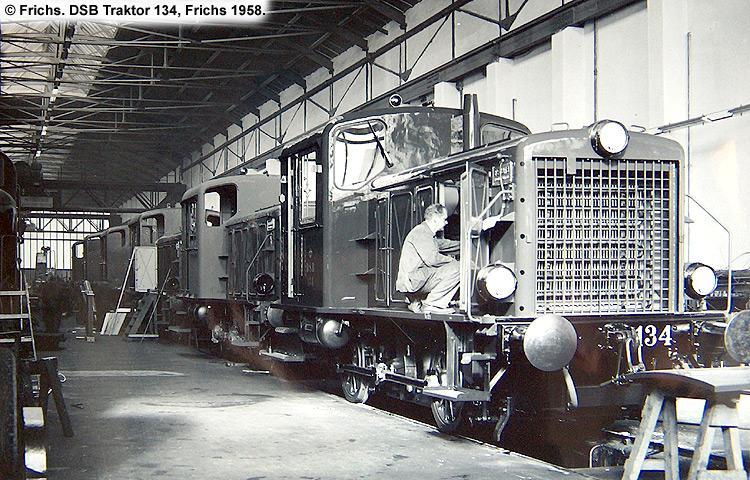 DSB Traktor 134