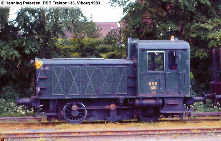 DSB Traktor 135
