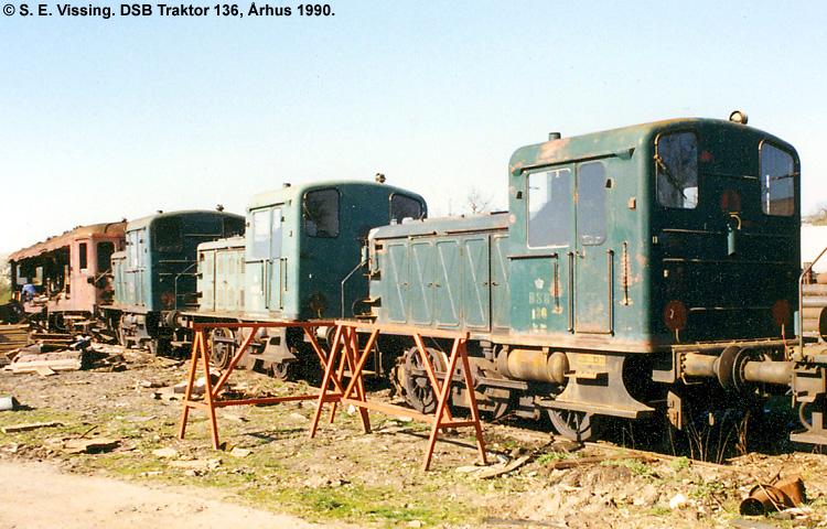 DSB Traktor 136