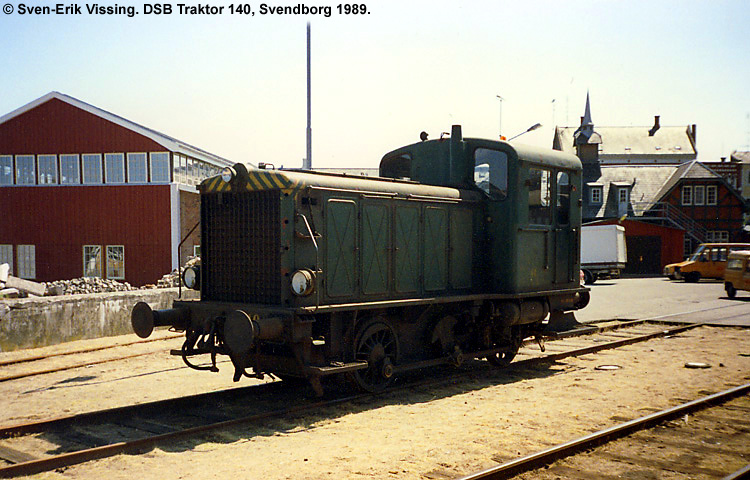 DSB Traktor 140