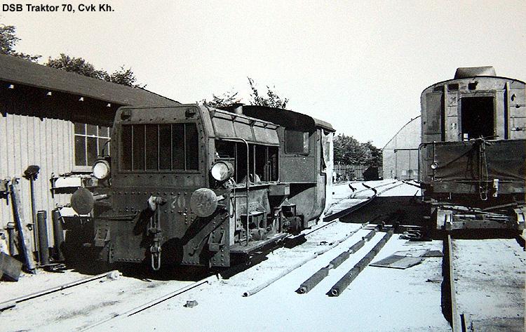 DSB Traktor 70