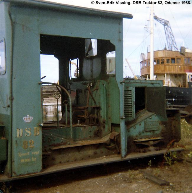 DSB Traktor 82