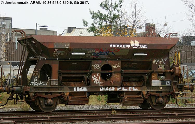 ARAIL  40 86 946 0 610-9