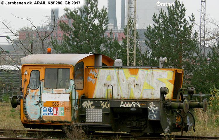 ARAIL Köf 286