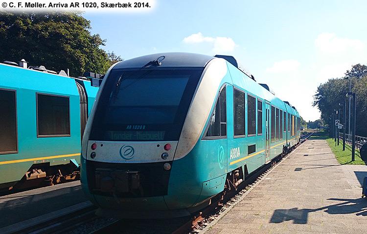 ARRIVA AR 1020