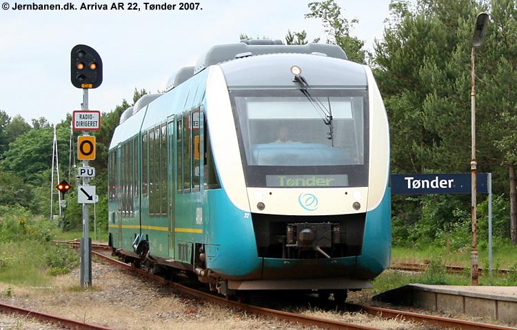 ARRIVA AR 1022